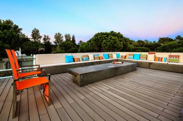 tarima exterior composite en terraza