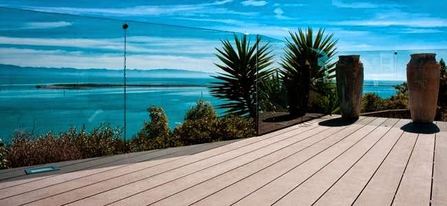 tarima exterior en terraza