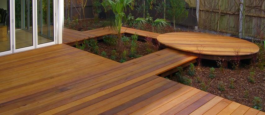 tarima exterior de madera